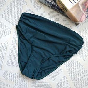 New LENNY NIEMEYER High Waist Ruched Bikini Bottom